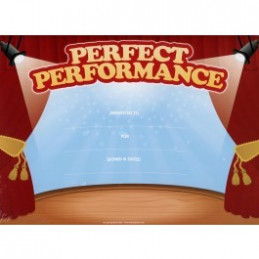 Perfect Performance Certificates for Kids 25 Pack