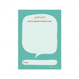 A6 Note Pad for Teachers or Parents