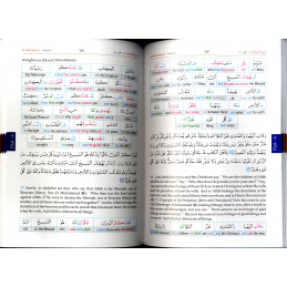 The Noble Quran Word for Word  Colour 3 Vol Set