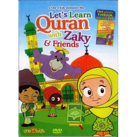 Lets Learn Quran With Zaky and Friends DVD