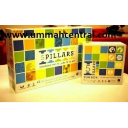 Five 5 Pillars Board Game and Activity Game Set
