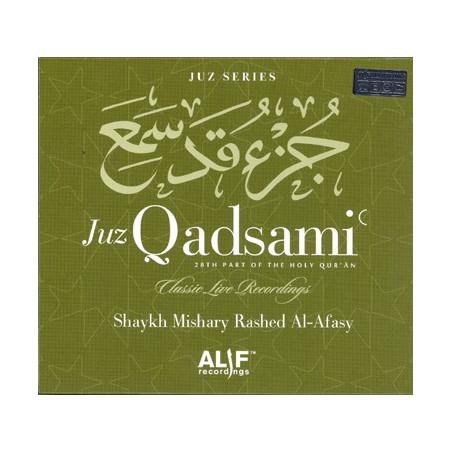 Juzz Qadsami 28 th Part of Quran cd By Mashary Rashid al-Fasy