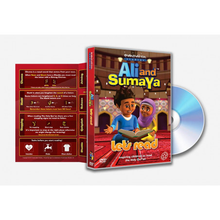 Ali and Sumaya Let's Read DVD