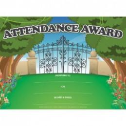 Attendance Award Certificates