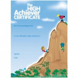 The High Achiever's Certificate