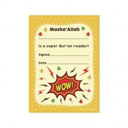 A6 MashaAllah Super Quran Reader Praise Pad