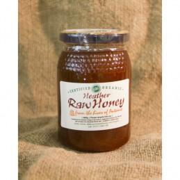 Raw Organic Honey  Heather Flavour