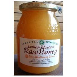 Lemon Blossom, Raw Honey Unpasteurised 500g