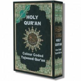 Color Coded Tajweed Holy Quran Urdu Script