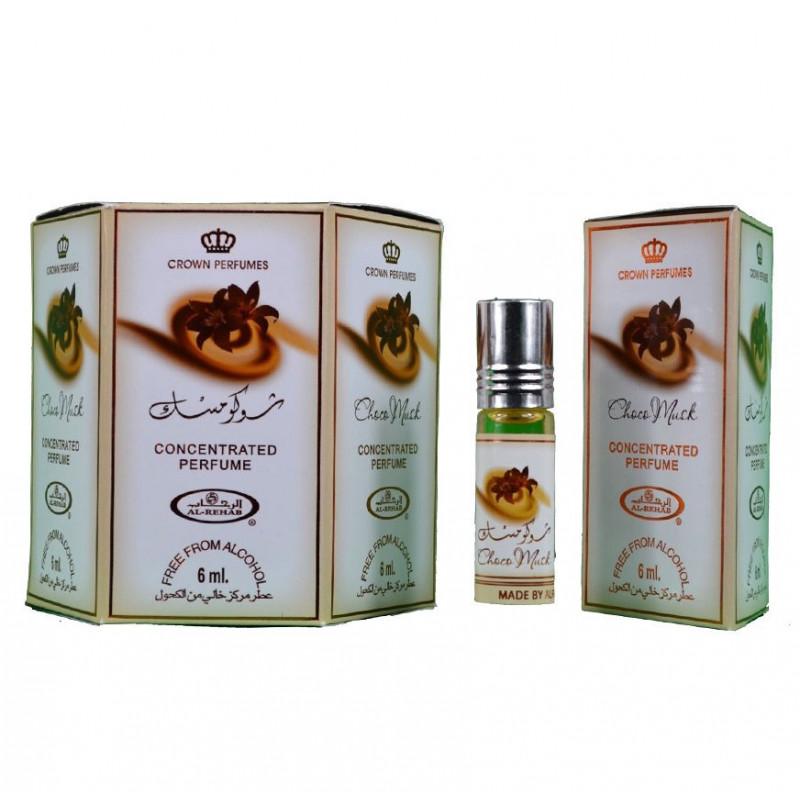 Choco Musk Perfume Oil Attar 6 x 6ml
