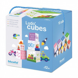 Ludo Cubes Arabic and English