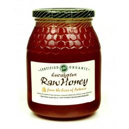 Organic Raw Eucalyptus Honey 500g Unpasteurised