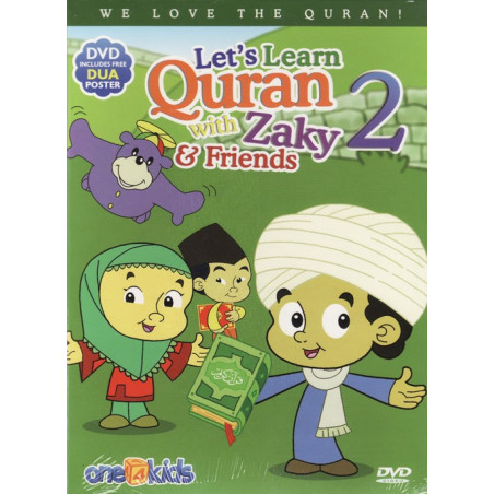 Let's Learn Quran with Zaky And Friends Part 2  DVD
