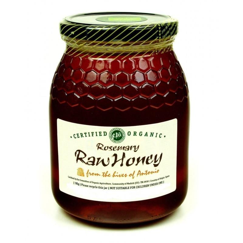 Rosemary Raw Organic Honey 500g