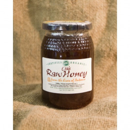 Raw Organic Oak Honey 500g
