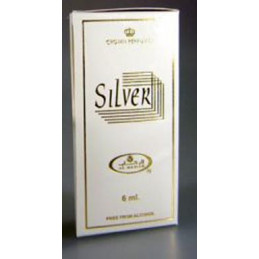 Silver Perfume Oil Al Rehab 6ml