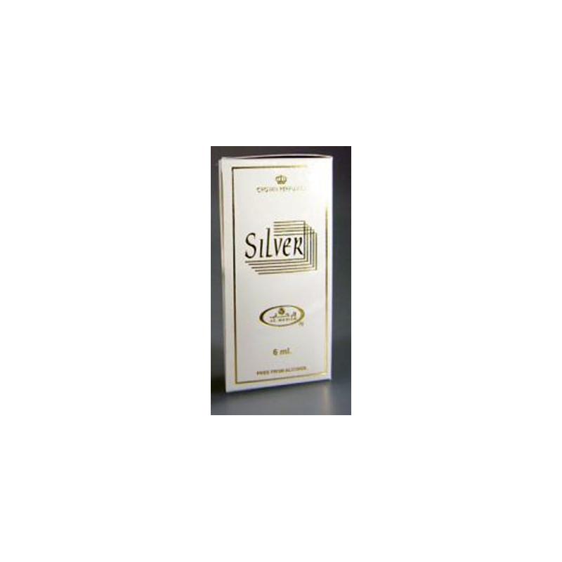 Silver Perfume Oil Al Rehab 6ml