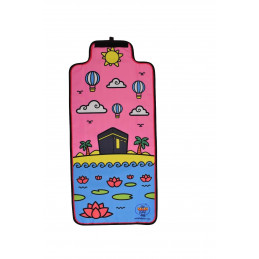 Kids Prayer Mat Maryam Pink For Salah