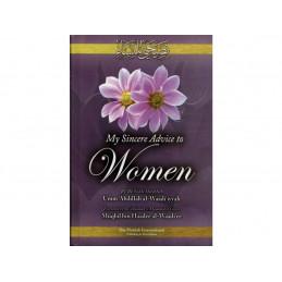 My sincere Advice to Women by Umm Abdillah al-Waadiyyah HB