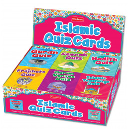 Islamic Quiz Cards Display Box with 24 Quiz Packs