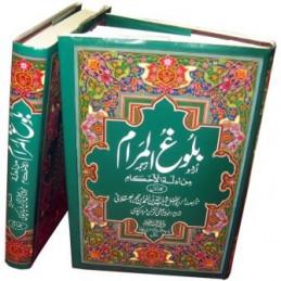 Bulugh ul Maram 2 Volume Urdu