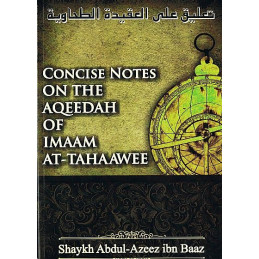 Concise notes on the Aqeedah of Imaam At Tahaawee