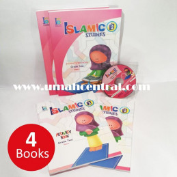 Islamic Studies Grade 2 Ages 7-8 Set Text and Activity Books
