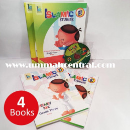 Islamic Studies Grade 3 Ages 8-9 Set Text and Activity Books