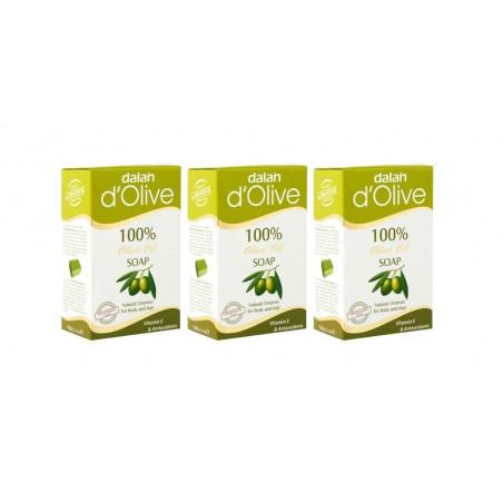 Dalan d'Olive Soap 150g x3