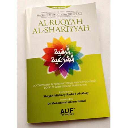 Al Ruqyah Al Shariyyah CD set Recitation by Mishary al Afasy