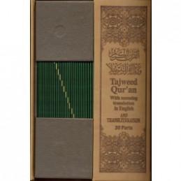 Tajweed Quran 30 Parts Set...