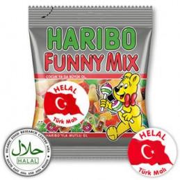 Haribo Halal Sweets Funny Mix