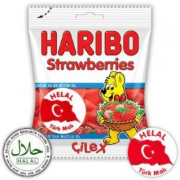 Haribo Halal Sweets Strawberries