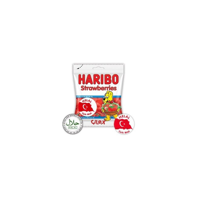 Haribo Halal Sweets Strawberries