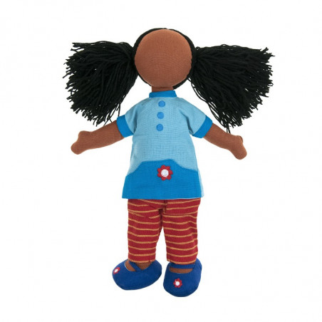 Fair trade Girl doll set Hannah