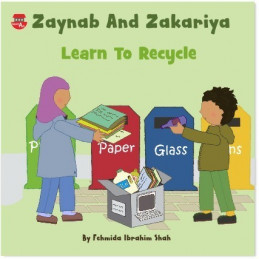 Zaynab And Zakariya Learn To Recycle By SmartArk