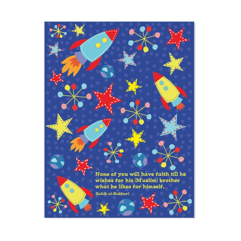 Space Rocket Exercise Notebook by SmartArk