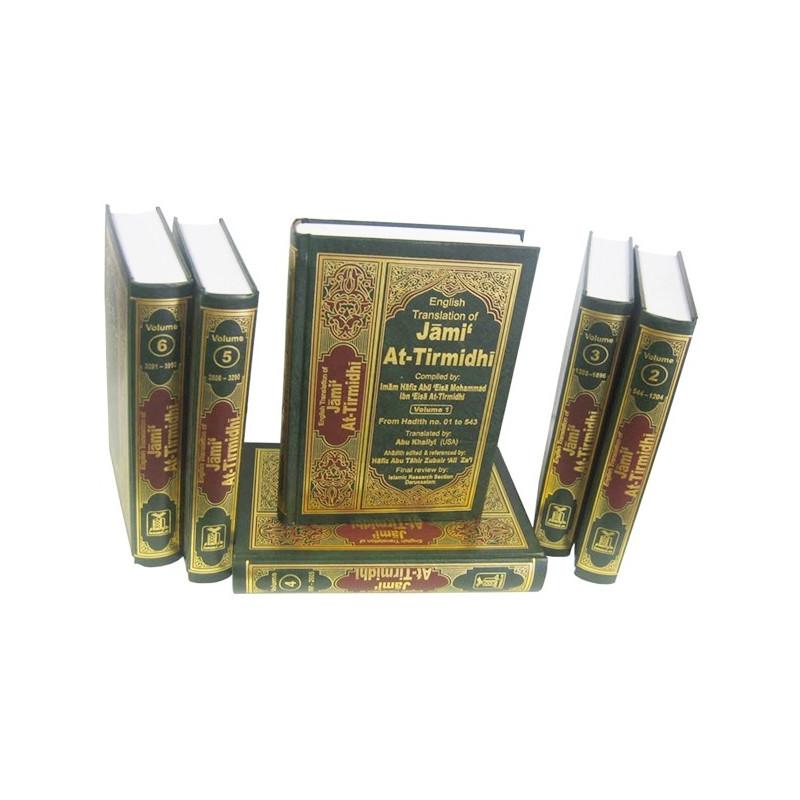 Jami At Tirmidhi 6 Volume Set Hadith Collection