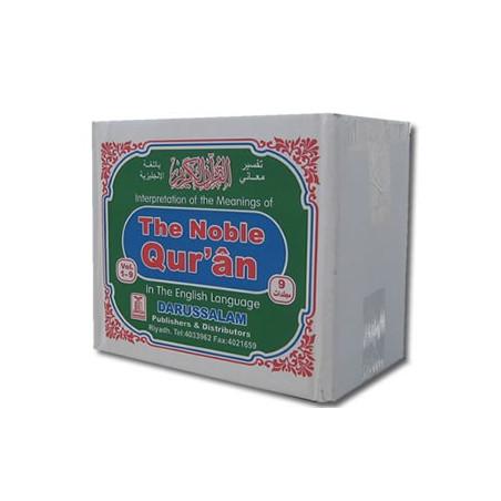 The Noble Quran 9 Nine Volume Set