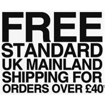 Free UK Delivery For Orders Over £40